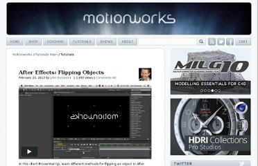 http://motionworks.net/category/tutorialsmain/tutorials/