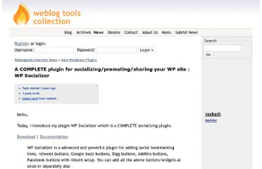 http://weblogtoolscollection.com/news/topic/a-complete-plugin-for-socializingpromotingsharing-your-wp-site-wp-socializer