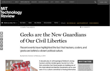 http://www.technologyreview.com/news/510641/geeks-are-the-new-guardians-of-our-civil-liberties/