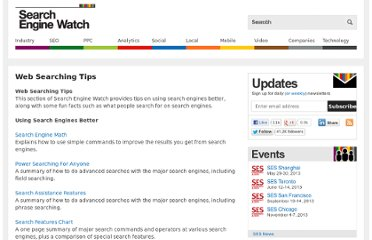http://searchenginewatch.com/page/tips
