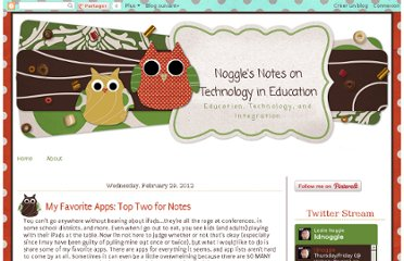 http://blog.leslienoggle.com/2012/02/my-favorite-apps-top-two-for-notes.html