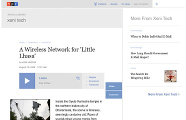 http://www.npr.org/2006/08/10/5631353/a-wireless-network-for-little-lhasa