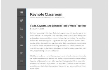http://www.keynoteclassroom.com/index_files/iPadsp-Keynote-and-Edmodo.html#.UQ-peB1WySo