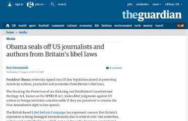 http://www.guardian.co.uk/media/greenslade/2010/aug/11/medialaw-barack-obama