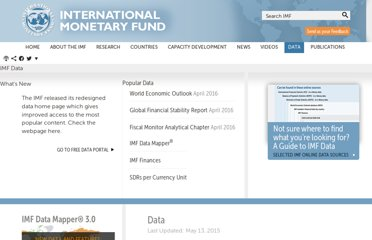 http://www.imf.org/external/data.htm