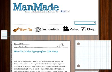 http://manmadediy.com/users/chris/posts/639-how-to-make-typographic-gift-wrap