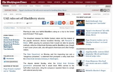 http://www.washingtontimes.com/news/2010/aug/2/uae-rules-set-off-blackberry-storm/