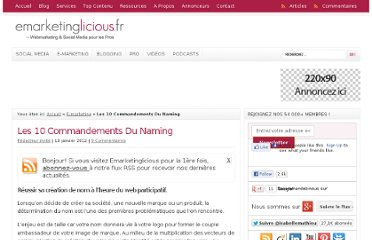 http://www.emarketinglicious.fr/webmarketing/les-10-commandements-du-naming