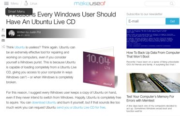 http://www.makeuseof.com/tag/4-reasons-windows-user-ubuntu-live-cd/