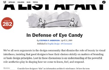 http://alistapart.com/article/indefenseofeyecandy
