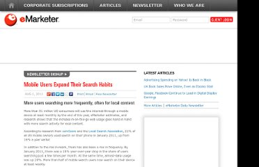http://www.emarketer.com/Article/Mobile-Users-Expand-Their-Search-Habits/1008521
