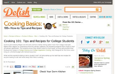 http://www.delish.com/recipes/cooking-recipes/cooking-tips-for-college-kids#slide-1