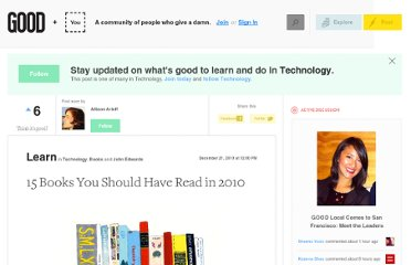 http://www.good.is/posts/15-books-you-should-have-read-in-2010