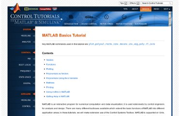http://ctms.engin.umich.edu/CTMS/index.php?aux=Basics_Matlab
