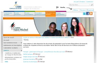 http://www.csrs.qc.ca/fr/etablissements/education-aux-adultes/centre-saint-michel/sarca/tens/index.html