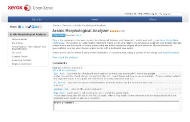 http://open.xerox.com/Services/arabic-morphology