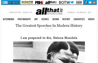 http://all-that-is-interesting.com/greatest-modern-history-speeches