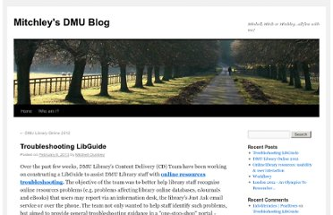 http://mitchley.our.dmu.ac.uk/2013/02/06/troubleshooting-libguide/