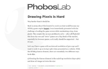 http://phoboslab.org/log/2012/09/drawing-pixels-is-hard