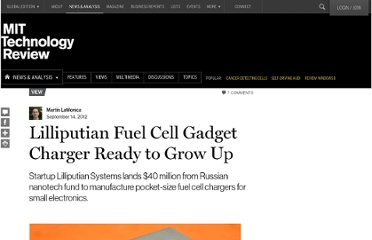 http://www.technologyreview.com/view/429220/lilliputian-fuel-cell-gadget-charger-ready-to-grow-up/