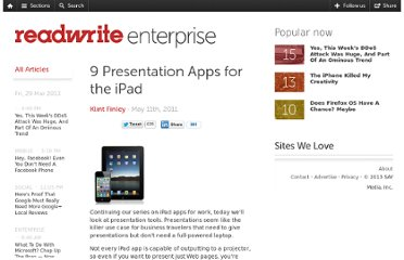 http://readwrite.com/2011/05/11/presentation-apps-for-the-ipad