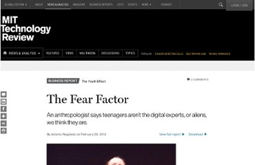 http://www.technologyreview.com/news/427089/the-fear-factor/