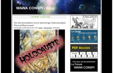 http://www.the-savoisien.com/blog/index.php?post/2010/06/07/Six-documentaires-sur-le-mensonge-holocaustique.