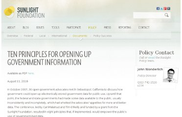 http://sunlightfoundation.com/policy/documents/ten-open-data-principles/