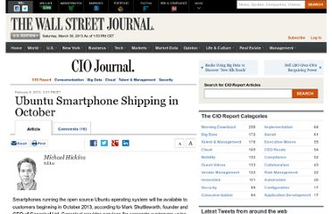 http://blogs.wsj.com/cio/2013/02/06/ubuntu-smartphone-shipping-in-october/