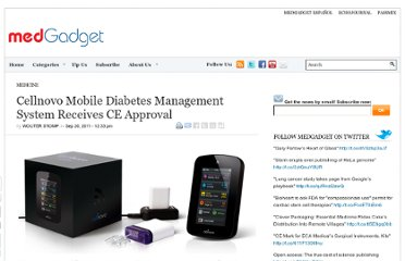http://www.medgadget.com/2011/09/cellnovo-mobile-diabetes-management-system-receives-ce-approval.html