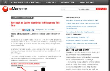 http://www.emarketer.com/Article/Facebook-Double-Worldwide-Ad-Revenues-This-Year/1008598