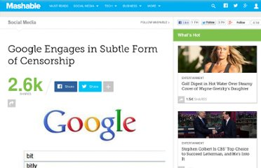 http://mashable.com/2011/01/26/google-censorship/