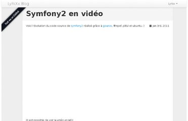 http://blog.lyrixx.info/symfony/symfony2-en-video.html