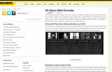 http://freewebelements.com/examples-of-jquery-sliders/