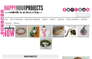 http://happyhourprojects.com/word-bracelets/