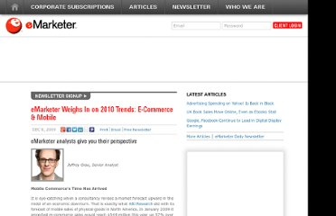 http://www.emarketer.com/Article/eMarketer-Weighs-on-2010-Trends-E-Commerce-Mobile/1007408