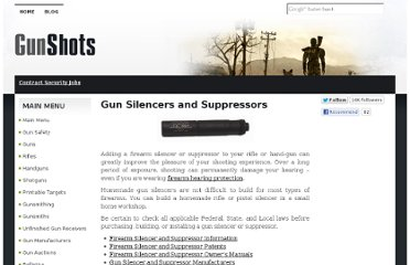 http://www.gun-shots.net/gun-silencers-and-suppressors.shtml#firearm-gun-silencer-suppressor-manufacturers