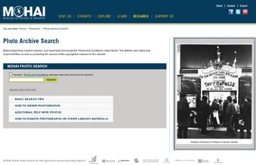 http://www.mohai.org/research/photo-archive-search