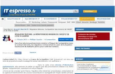 http://www.itespresso.fr/regulation-telecoms-repartition-missions-arcep-etat-clarifier-61585.html