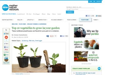 http://www.mnn.com/your-home/organic-farming-gardening/stories/top-10-vegetables-to-grow-in-your-garden