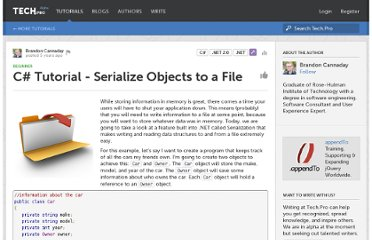 http://tech.pro/tutorial/618/csharp-tutorial-serialize-objects-to-a-file