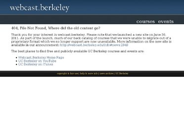 http://webcast.berkeley.edu/courses.php?semesterid=2010-B