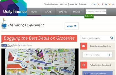 http://dailyfinance.com/2011/10/21/savings-experiment-bagging-the-best-deals-on-groceries/
