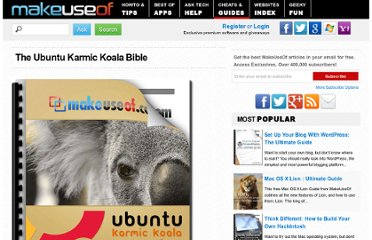 http://www.makeuseof.com/pages/guide-to-ubuntu-karmic-koala