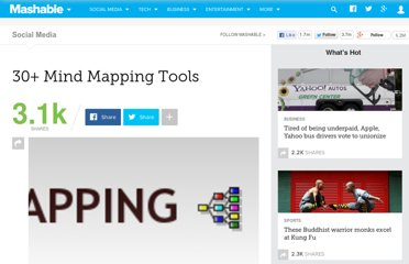 http://mashable.com/2007/11/02/mindmapping/