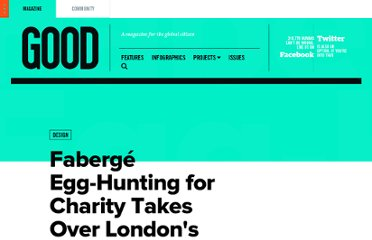 http://www.good.is/posts/faberge-egg-hunting-for-charity-takes-over-london-s-streets