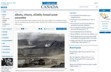 http://www.thestar.com/news/canada/2012/03/12/alberta_ottawa_oil_lobby_formed_secret_committee.html
