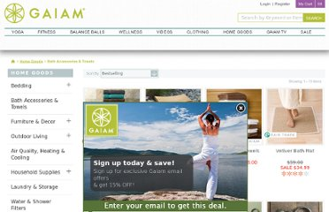 http://www.gaiam.com/bath-accessories-towels/1010200,default,sc.html