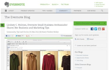 http://blog.evernote.com/blog/2012/03/01/lindsey-c-holmes-evernote-small-business-ambassador-shares-her-business-and-marketing-tips/