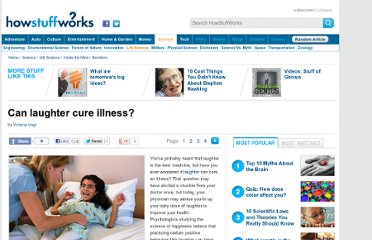 http://science.howstuffworks.com/life/laughter-cure-illness.htm